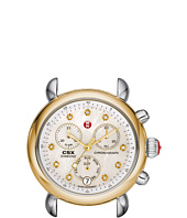Michele - CSX-36 Two-Tone, Diamond Dial Silver/Gold