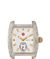Michele - Urban Mini Diamond Two-Tone, Diamond Dial Silver/Gold Watch Head