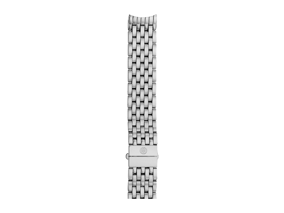 Michele - 16mm Serein 16 7-Link Bracelet Silver/Steel