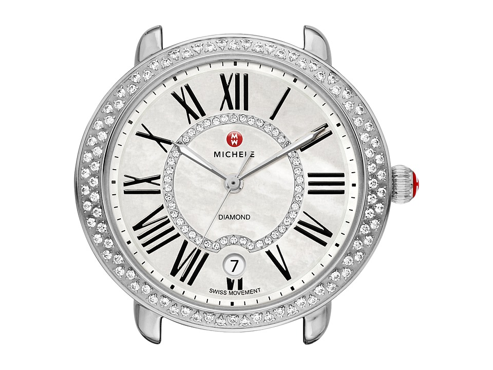 Michele - Serein 16 Diamond, Diamond Dial Silver/Steel Watch Head