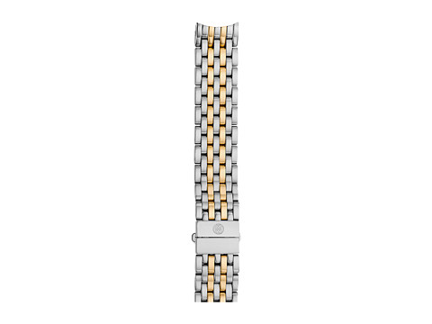 Michele 16mm Serein 16 Two-Tone 7-Link Bracelet Silver/Gold - Two-Tone Silver/Gold
