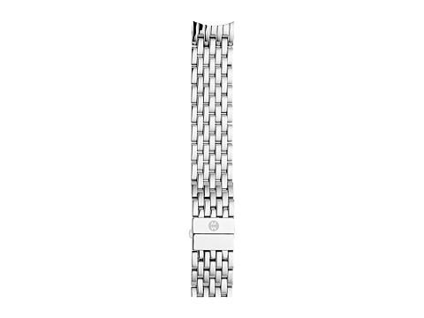 Michele 18mm CSX-36 7-Link Bracelet Silver/Steel