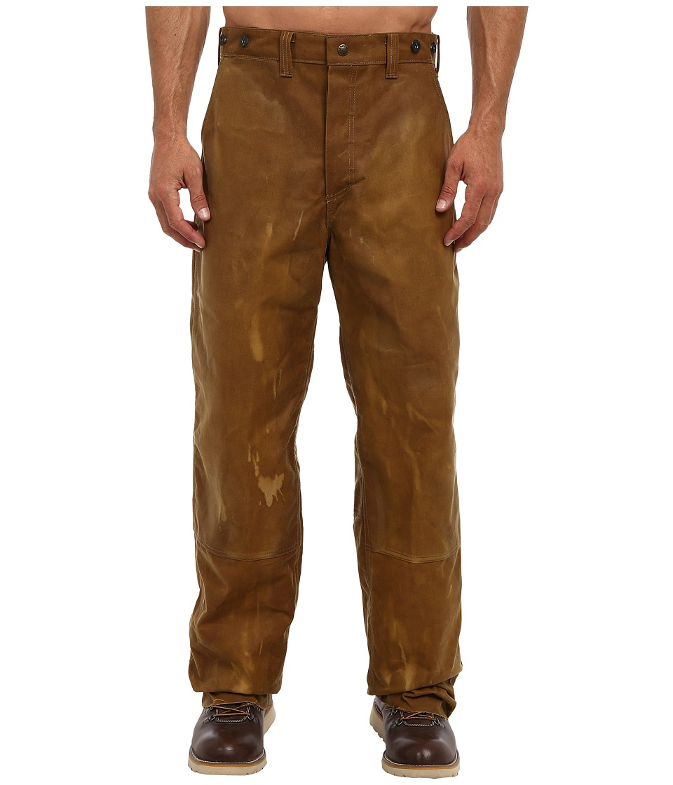 Filson Oil Finish Double Tin Pant Tan Mens Casual Pants