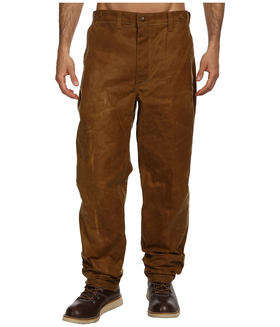 Filson Oil Finish Single Tin Pant Tan Mens Casual Pants