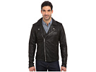 Joe's Jeans Lamb Crackle Leather Moto Jacket