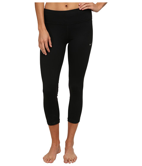 Nike Dri-FIT™ Epic Run Crop - Black/Black/Reflective Silver