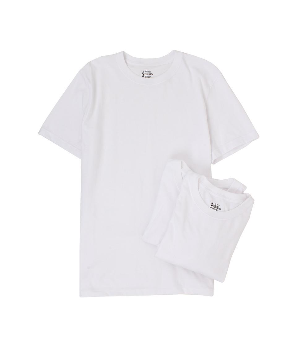 Jockey Men 39 S T Shirts Classic Crew Neck 3 Pack White