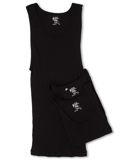 Jockey Cotton A-Shirt 3-Pack - Black