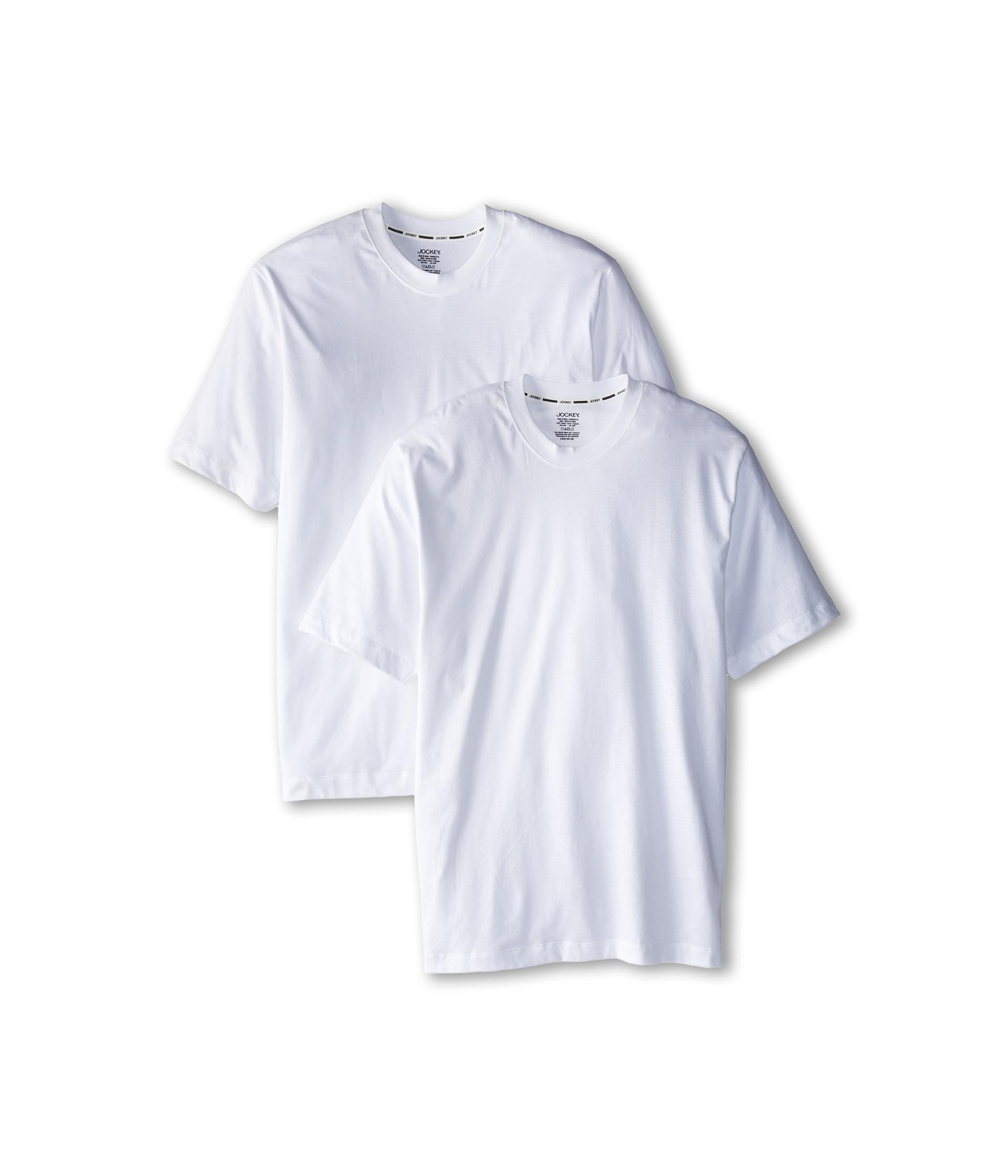Jockey staycool crew neck t shirt 2 pack at for Jockey t shirts sale