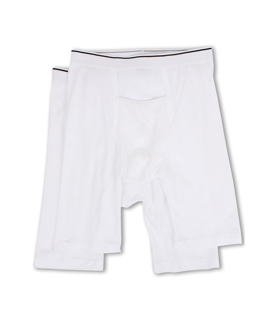 JOCKEY Pouch Athletic Midway(r) Brief 2-Pack (White) Men'...