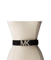 MICHAEL Michael Kors - 38mm Solid Haircalf on MK Plaque