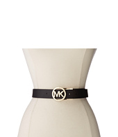 MICHAEL Michael Kors - 38mm Belt w/ MK Logo Reversible Buckle