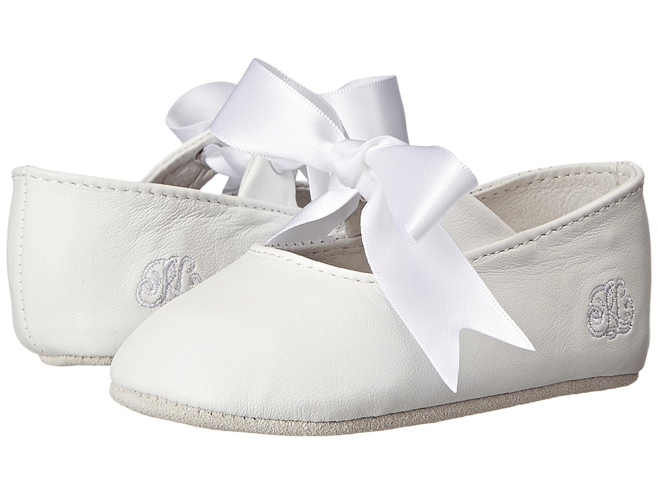 Polo Ralph Lauren Kids Briley (Infant/Toddler) (White Lambskin) Girls Shoes