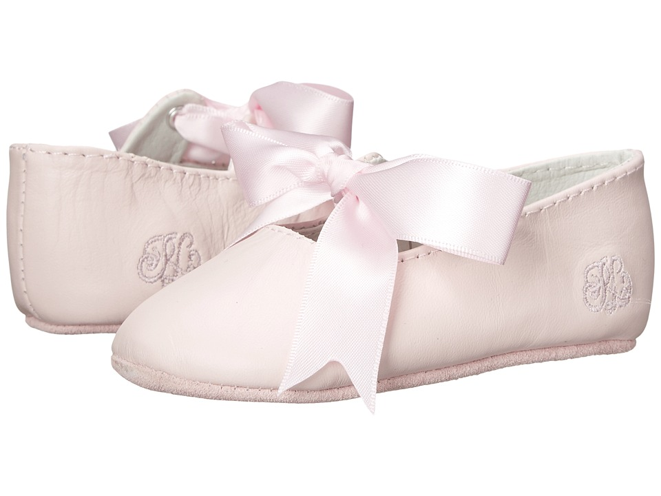 Ralph Lauren Layette Kids Briley Infant/Toddler Pink Lambskin Girls Shoes