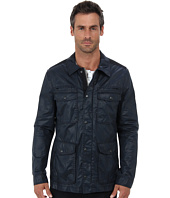 John Varvatos Star U.S.A. - Four-Pocketed Zip and Snap Front Jacket O1104Q2B