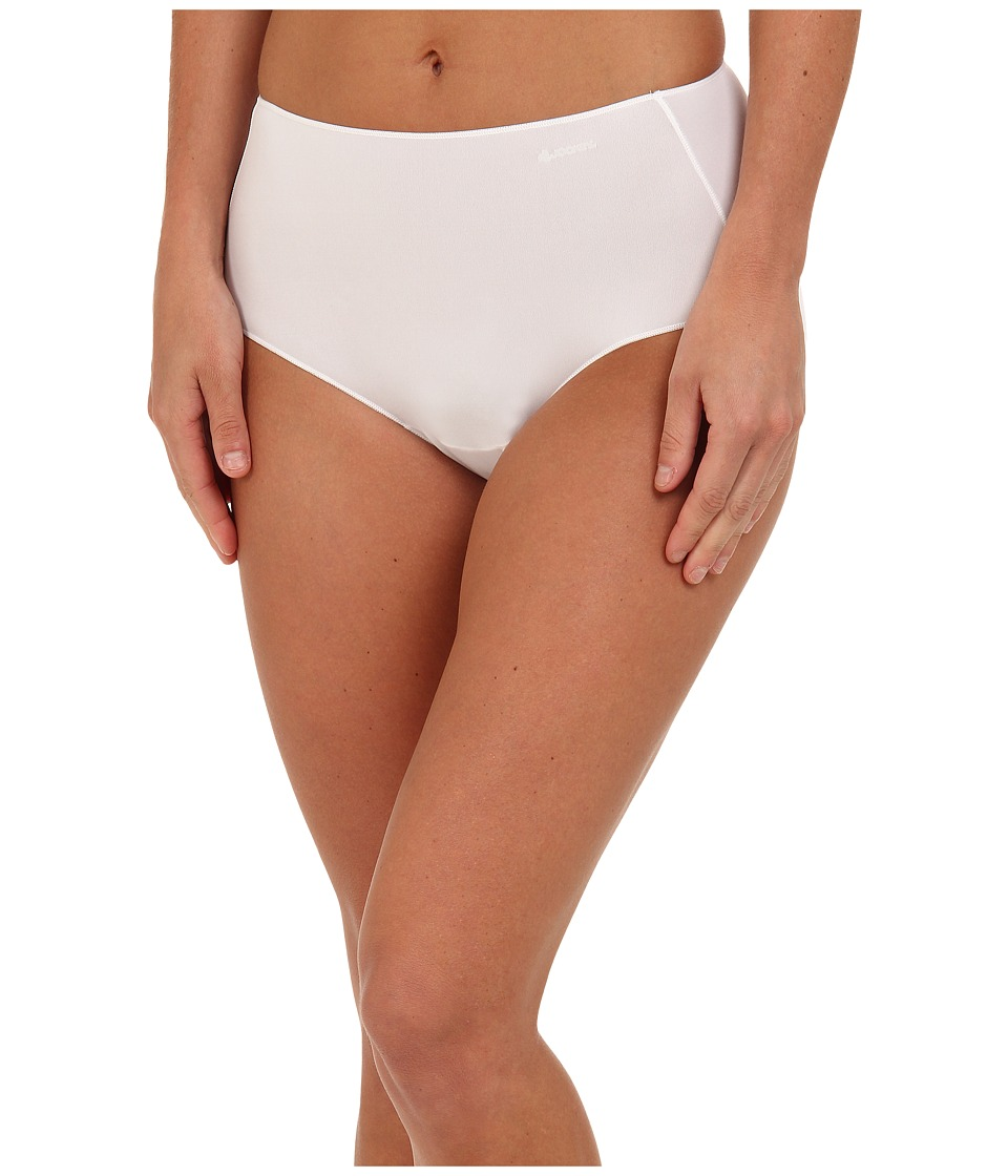 Jockey No Panty Line Promise Tactel Hip Brief White Womens Underwear
