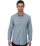 John Varvatos Star U.S.A. - Turnback Placket Shirt w/ Contrast Interior W434Q2L