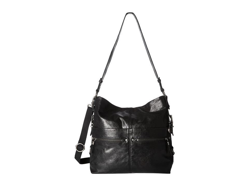 The Sak - Sanibel Bucket (Black) Satchel Handbags