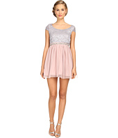 Gabriella Rocha - Sequin Mesh Party Dress