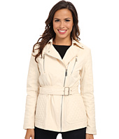 Kenneth Cole New York - Quilted Asymmetrical Jacket