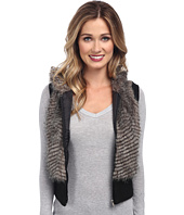Gabriella Rocha - Faux Fur Vest with Sweater Back and Vest