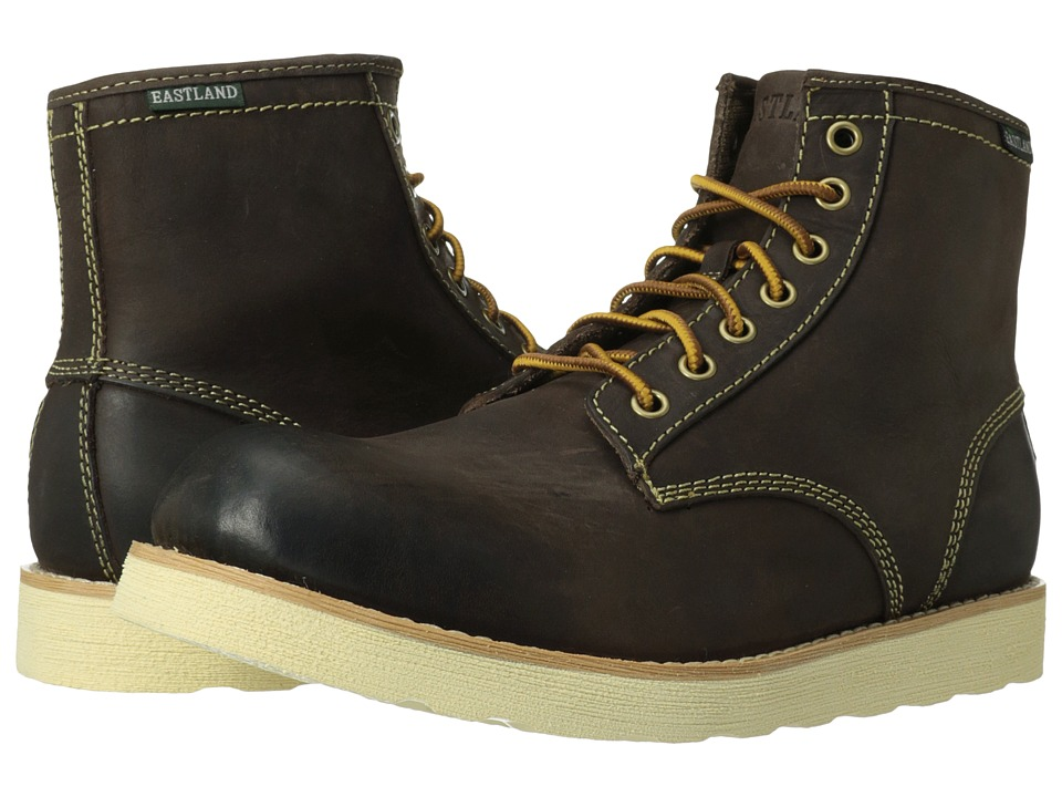 Eastland 1955 Edition Barron Dark Brown Mens Work Lace up Boots
