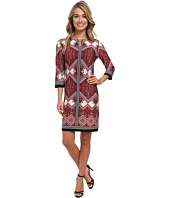 Christin Michaels - Bella Rosa Print Dress