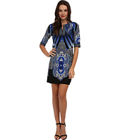 Christin Michaels - Finch Printed Dress