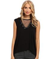 BCBGMAXAZRIA - Delaney Embellished Knit Top