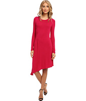 BCBGMAXAZRIA - Asymmetrical Hem Knit Dress