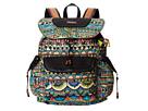 Sakroots Sakroots Artist Circle Flap Backpack (Radiant One World)