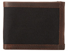 Will Leather Goods Ethan Billfold (Black/Brown)