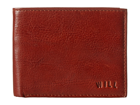 Will Leather Goods Cliff Billfold Wallet