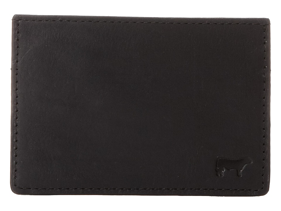 Will Leather Goods - Sampson Slim Card Case (Black) Credit card Wallet