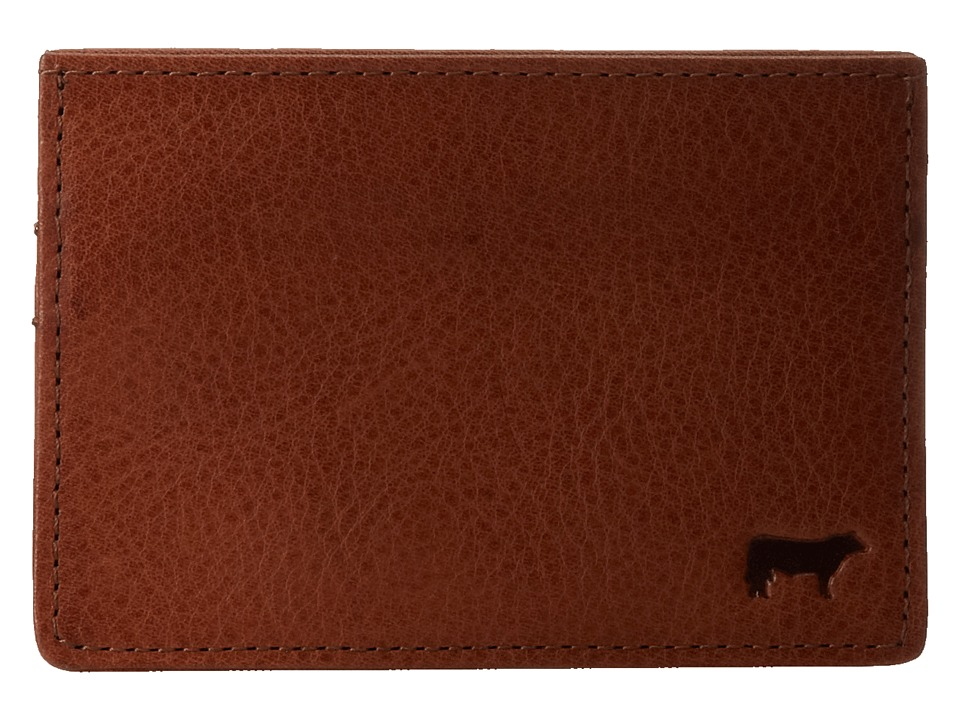 Will Leather Goods - Sampson Slim Card Case (Cognac) Credit card Wallet