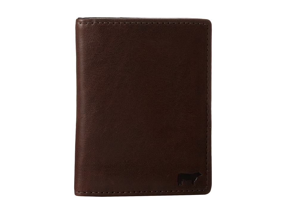 Will Leather Goods - Clyde Front Pocket (Brown) Wallet