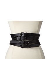 BCBGMAXAZRIA - Wide Multi Straps Buckle Waist Belt