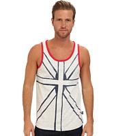 English Laundry  Tank Cut and Sew Union Jack  image