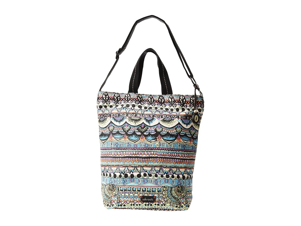 Sakroots - Artist Circle Campus Tote (Radiant One World) Tote Handbags