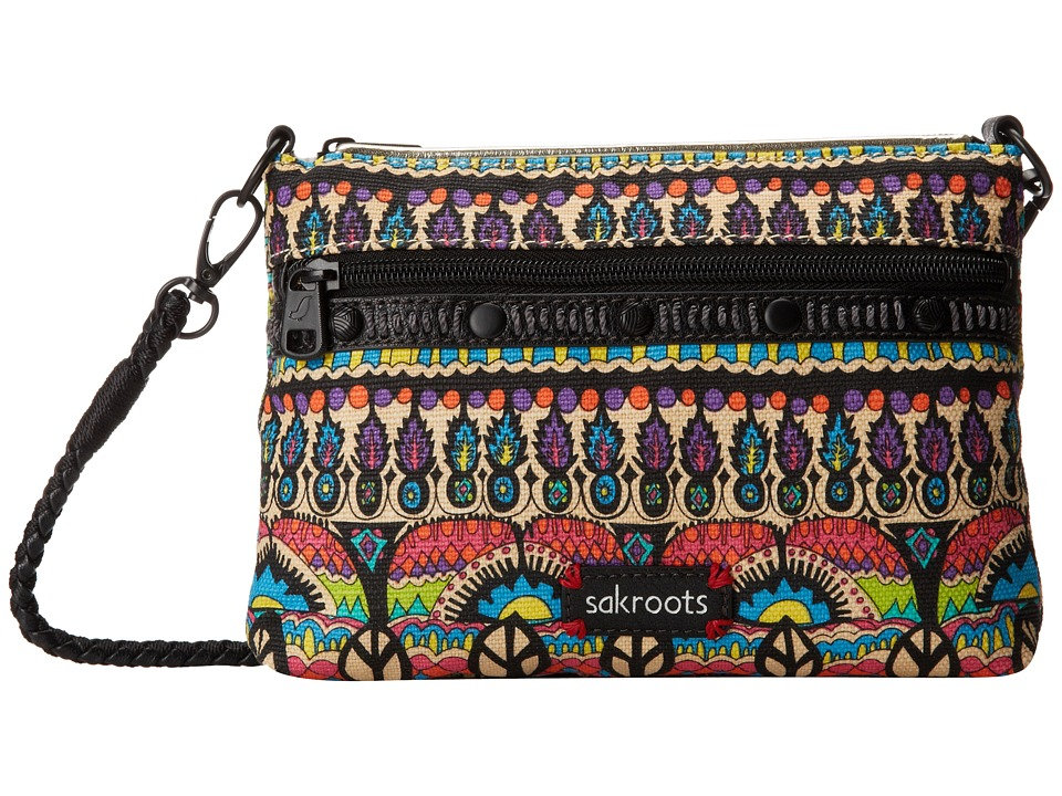 Sakroots - Artist Circle Campus Mini (Radiant One World) Cross Body Handbags
