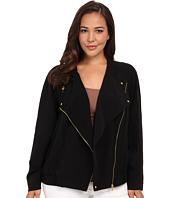 Calvin Klein Plus - Plus Size Soft Moto Jacket
