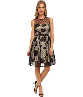 Eliza J  Dot Overlay Party Dress  image