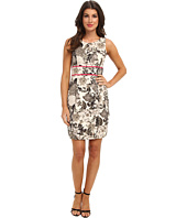Eliza J - Printed Shift with Inset Waist