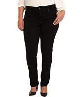 Jag Jeans Plus Size - Plus Size Piper Narrow in Black on Black