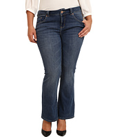 Jag Jeans Plus Size - Plus Size Petite Foster Boot in Indigo Aged