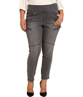 Jag Jeans Plus Size - Plus Size Zipper Stef Pull-On Skinny in Fog Wash