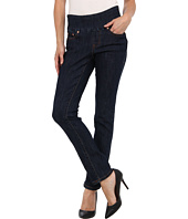 Jag Jeans Petite - Petite Malia Pull-On Slim in Dark Shadow