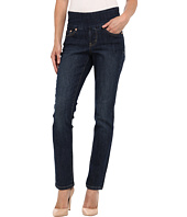 Jag Jeans Petite - Petite Peri Pull-On Straight in Blue Shadow