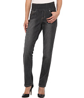 Jag Jeans Petite - Petite Townsend Pull-On Straight in Thunder Grey