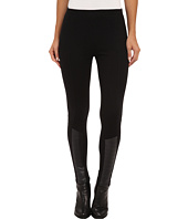 LAUREN by Ralph Lauren - Quilted Faux Leather Legging